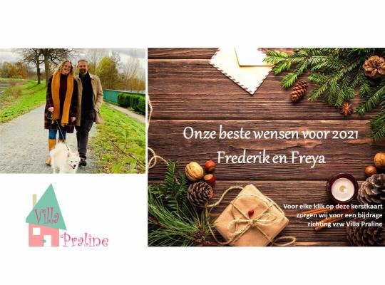 Freya Perdaens kerstwens